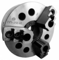 Патрон токарный 3-х кулачковый клиновый механизированный полый