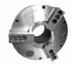 Патрон токарный 3-х кулачковый полый для обработки труб со встроенным пневмоприводом