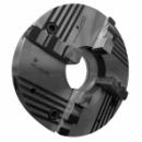 Патрон токарный 4-х кулачковый клинореечный ручной самоцентрирующий