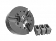 Патрон токарный специальный механизированный для центровых работ