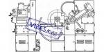 Полуавтомат для шлифования профиля зубьев диска пилы ВЗ-254